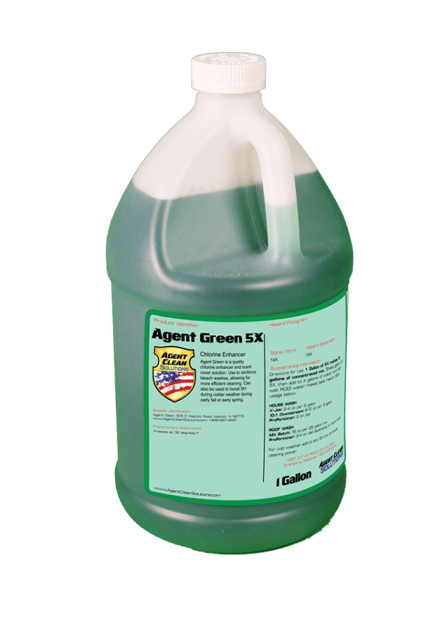 Agent Green 5x Concentrate - 1 Gallon
